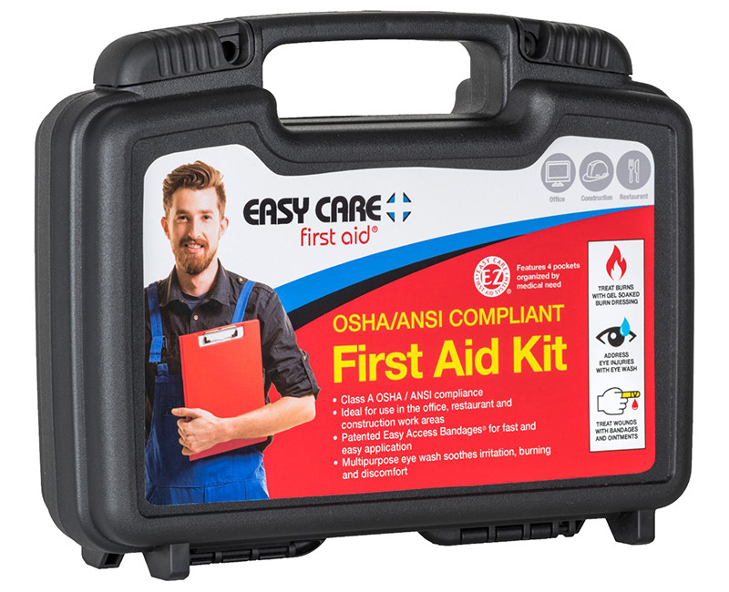 50 PERSON 2009 ANSI KIT W/EYEWASH WEATHERPROOF PLASTIC