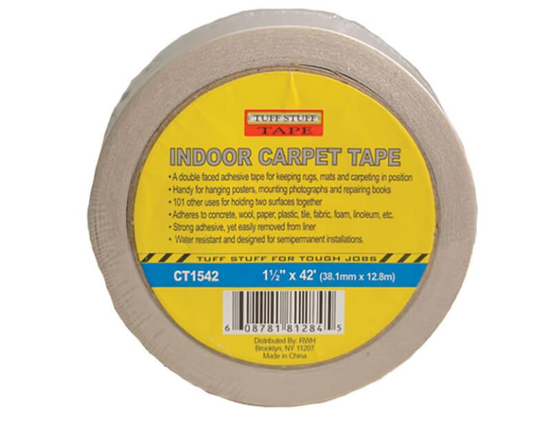 """1-1/2"""" X 42' Indoor Carpet Tape"""