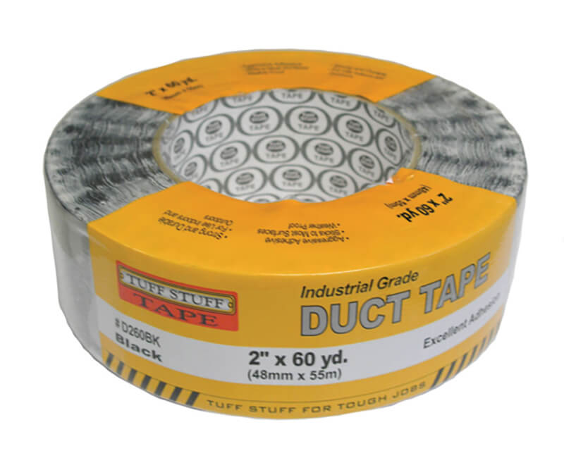 "2"" X 60 YD. Duct Tape - Black"