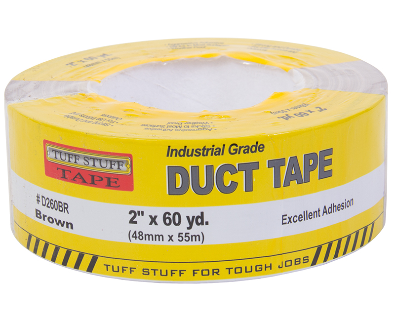 "2"" X 60 YD. Duct Tape - Brown"