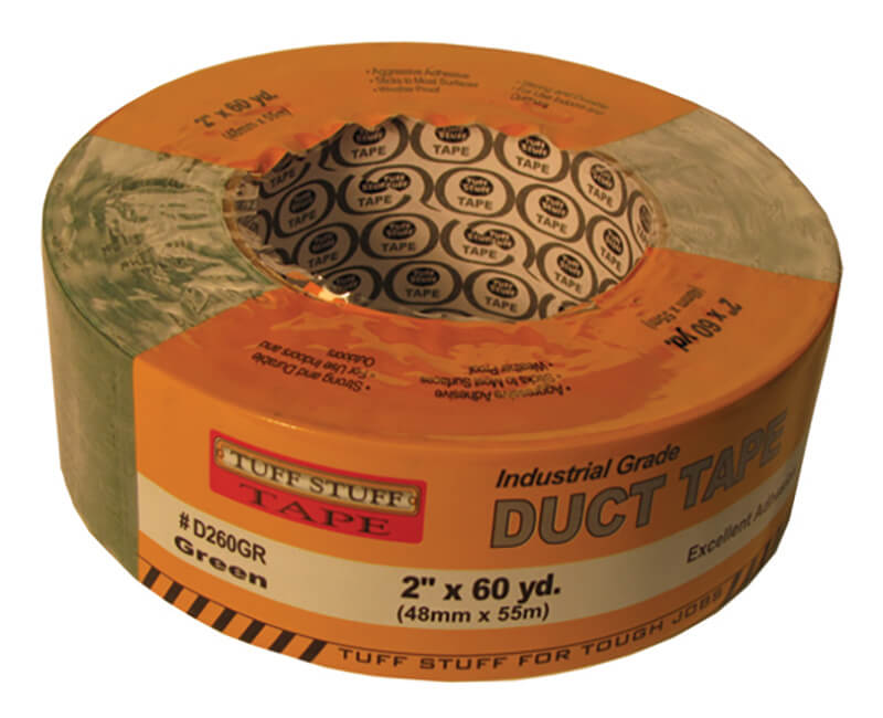 "2"" X 60 YD. Duct Tape - Green"