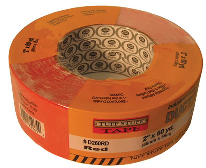 "2"" X 60 YD. Duct Tape - Red"