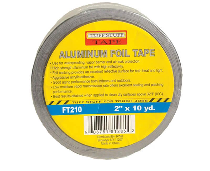 """2"""" X 10 YD. Aluminum Foil Tape"""