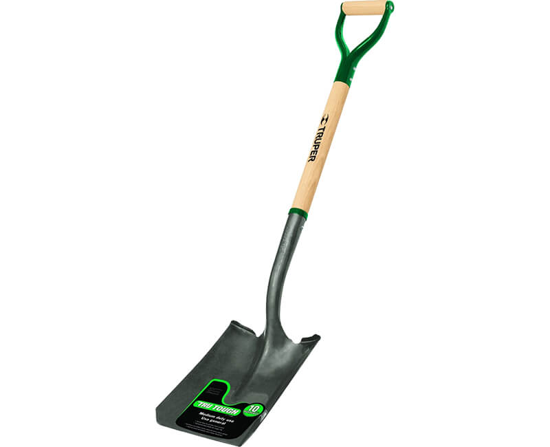 Square Point Shovel - D-Handle