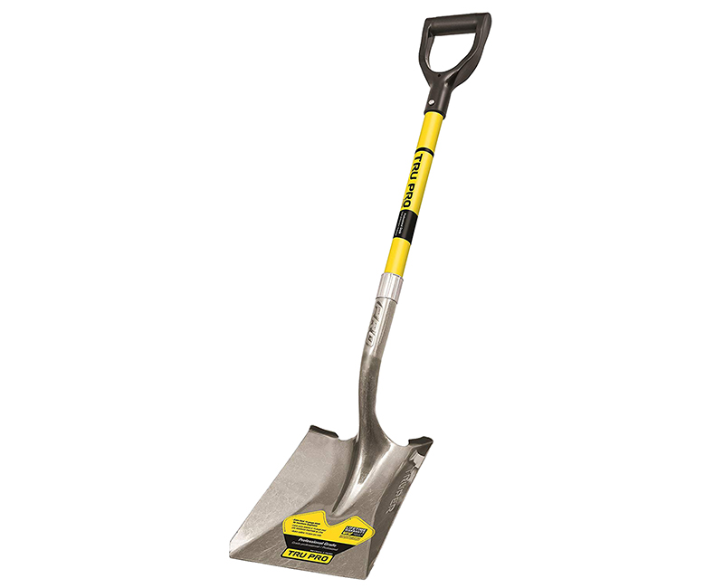 Square Point Shovel - D-Handle Fiberglass