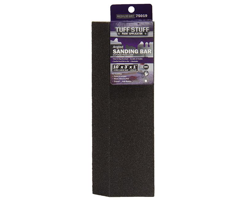 "10"" x 3"" x 1"" X-Large Angle Drywall Sanding Block - Medium 1/Card"