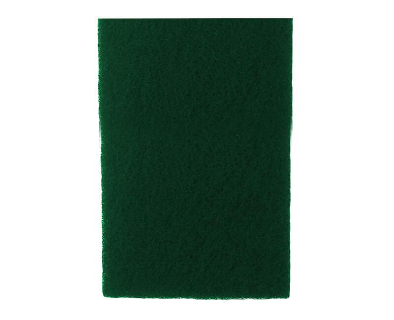 "6"" X 9"" Non-Woven Pad - 10 PC. Green"