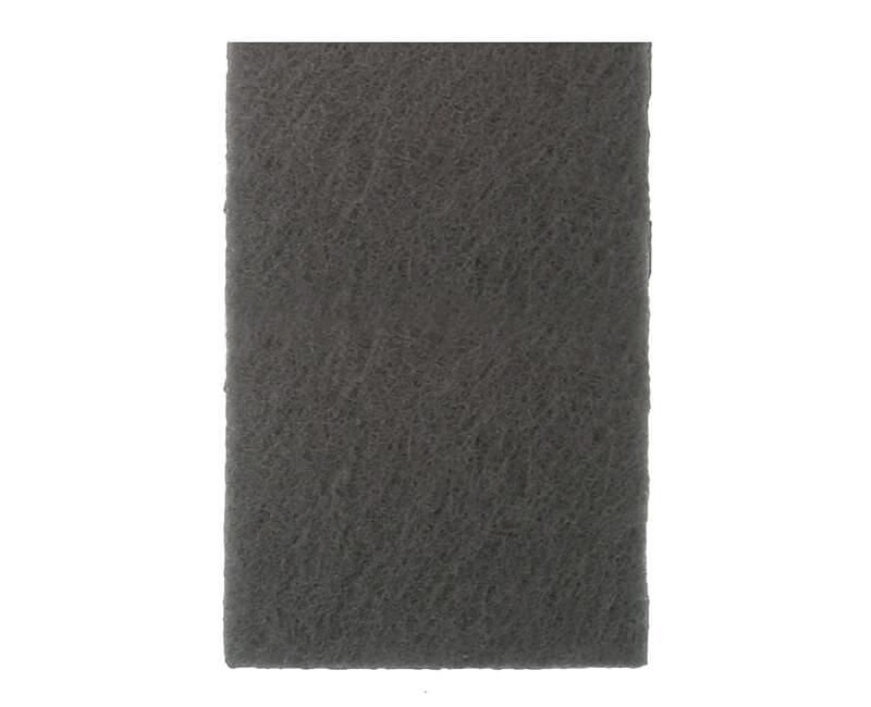 "6"" X 9"" Non-Woven Pad - 10 PC. Gray"