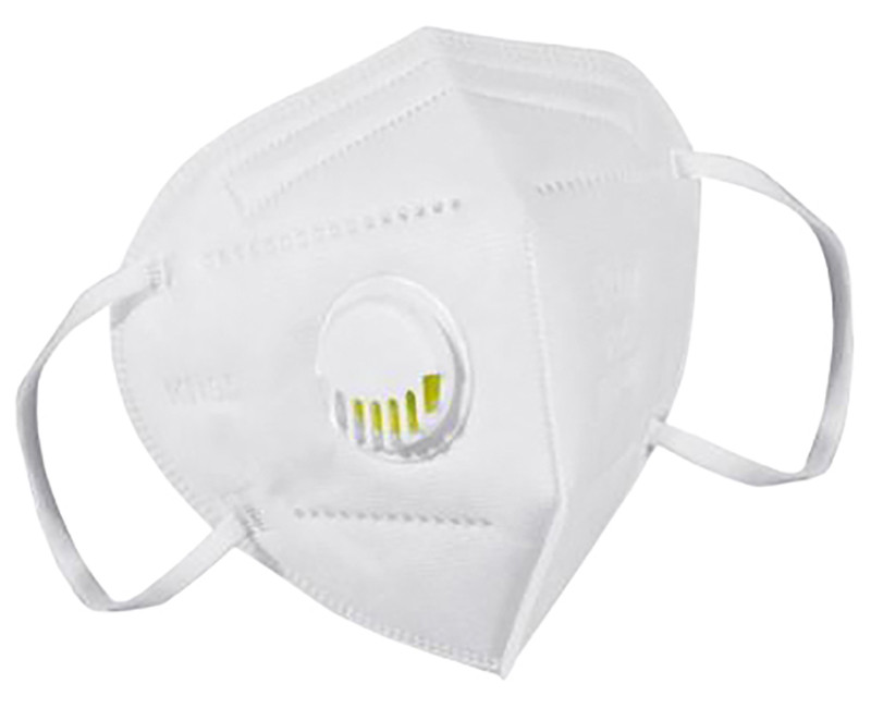 KN95 FACE MASKS WITH VALVE 5-LAYERS