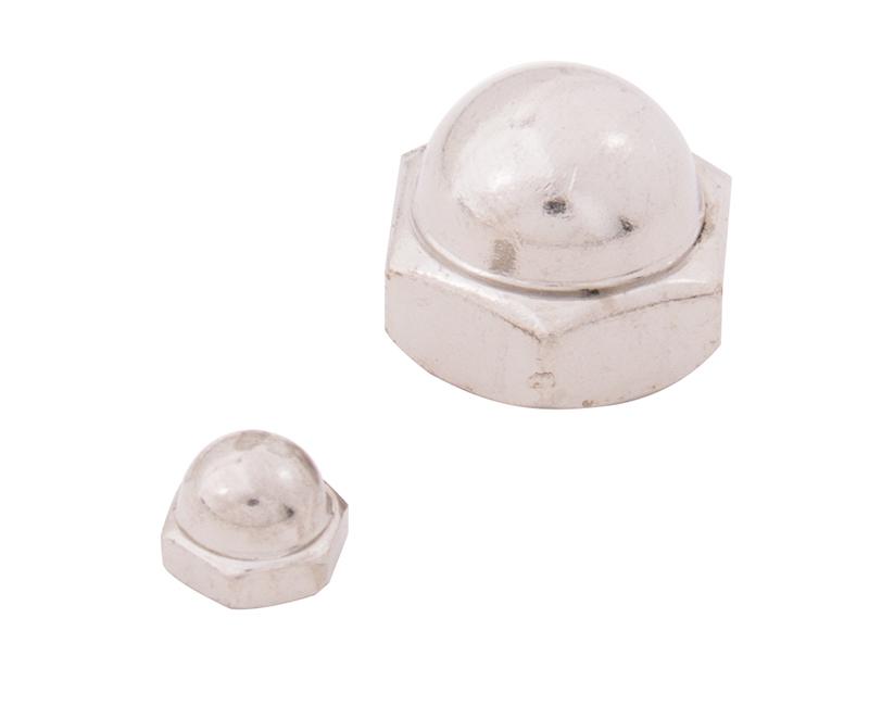"""Acorn Cap Nut ZP - 3/16"""" (10-24)"""