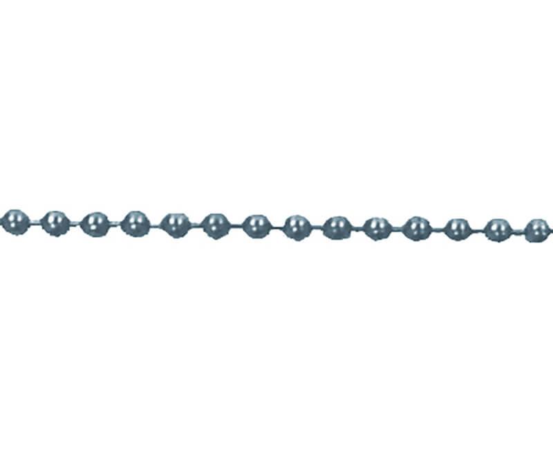 "Beaded Chain - 36"" Nickel"