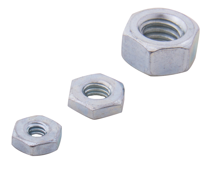 Hex Nuts SAE - 8-32