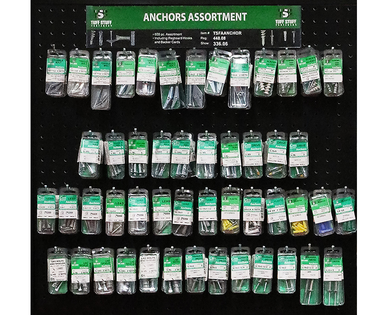 Fastener Assortment - Anchors