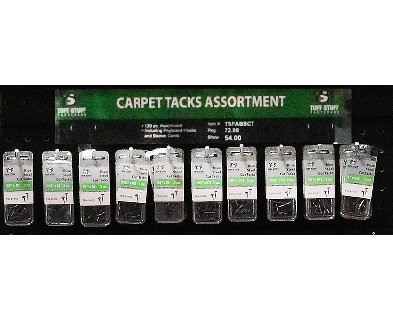 Fastener Assortment - Carpet Tacks