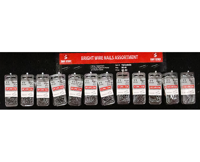 Fastener Assortment - Wire Nails