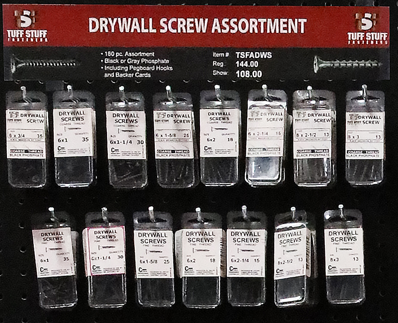 Fastener Assortment - Drywall Screws
