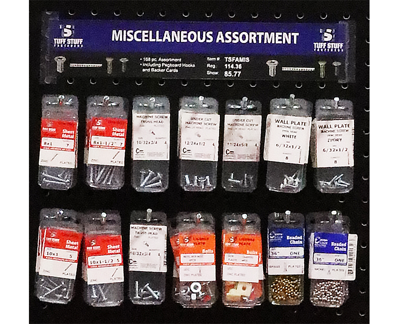 Fastener Assortment - Misc.