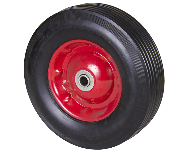 "10"" Solid Rubber Wheels"