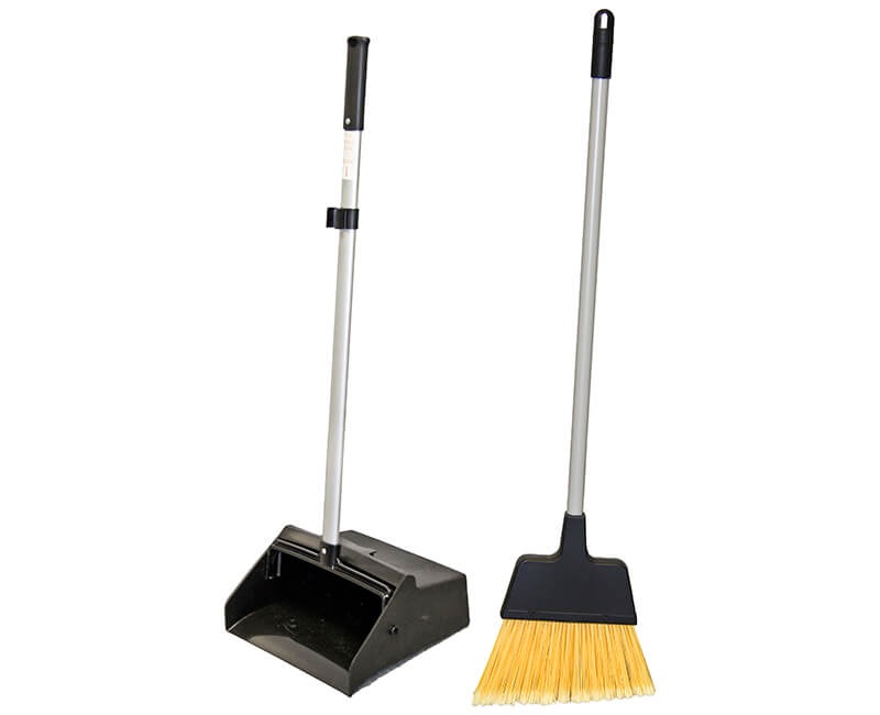 Lobby Dust Pan and Broom Combo Set