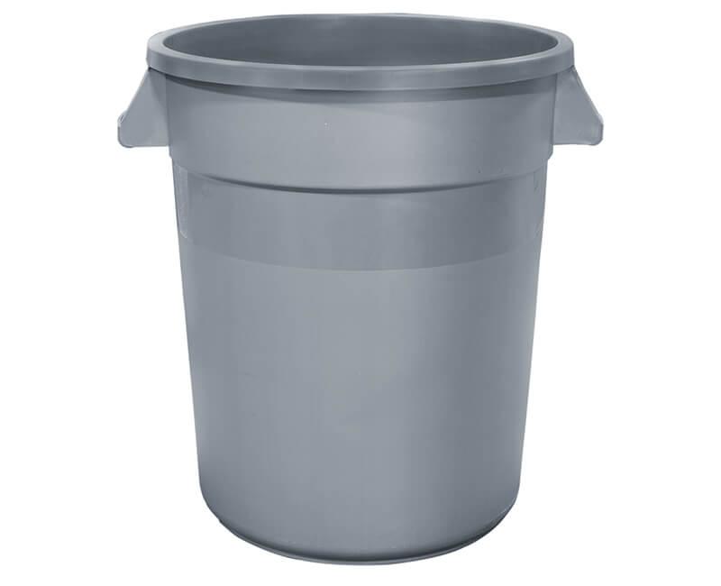 20 Gal. Gray Trash Can