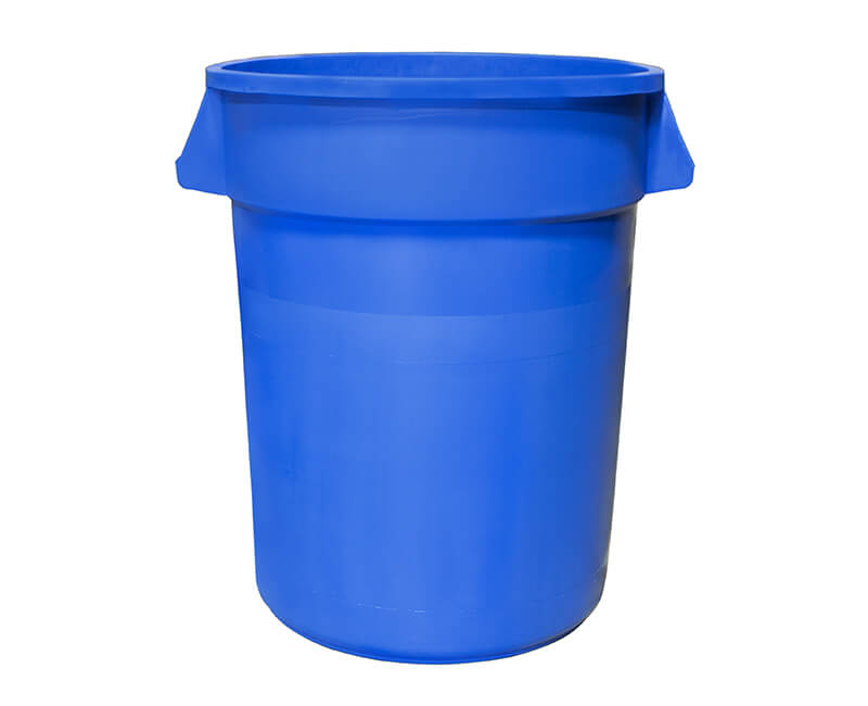 32 Gal. Blue Recycle Can