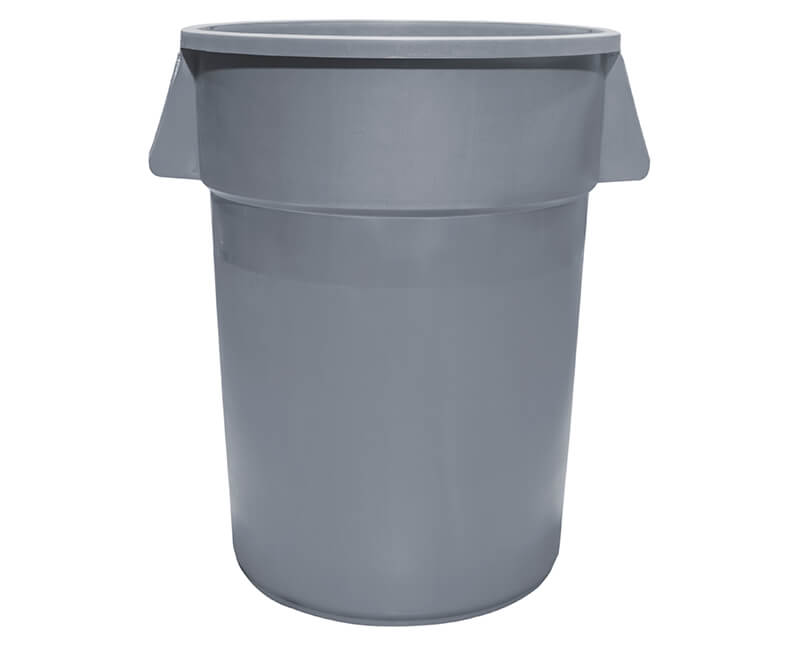 44 Gal. Gray Trash Can