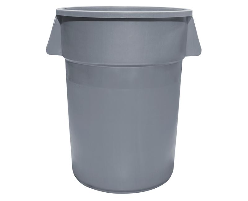 55 Gal. Gray Trash Can