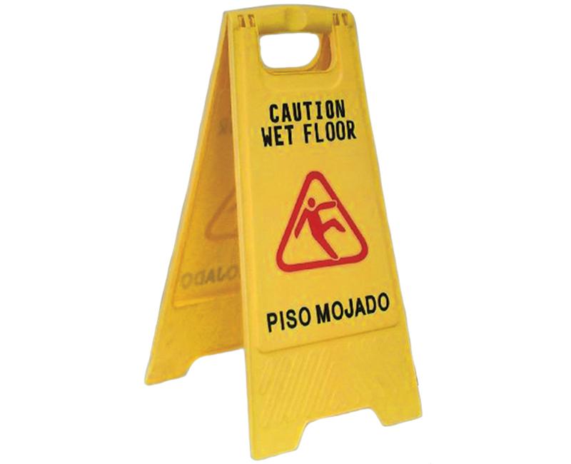 """24"""" Wet Floor Sign"""