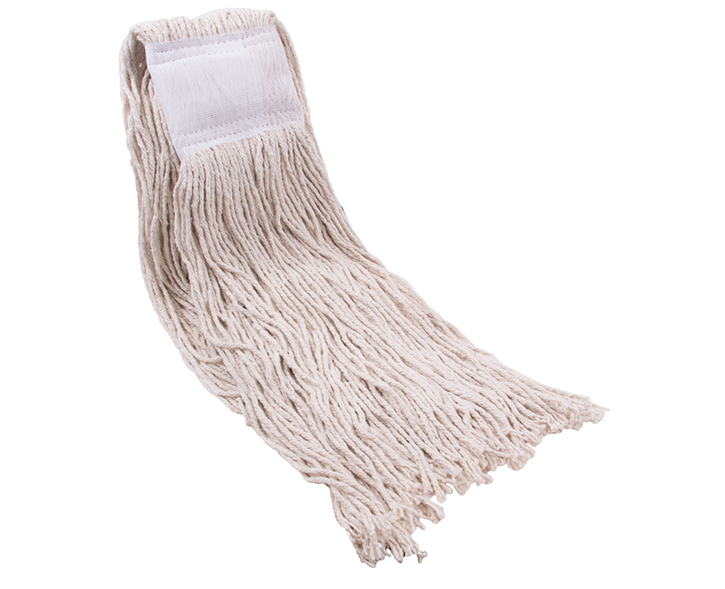 #16 4 Ply Wet Mop Head Cotton Wide Band Polybag