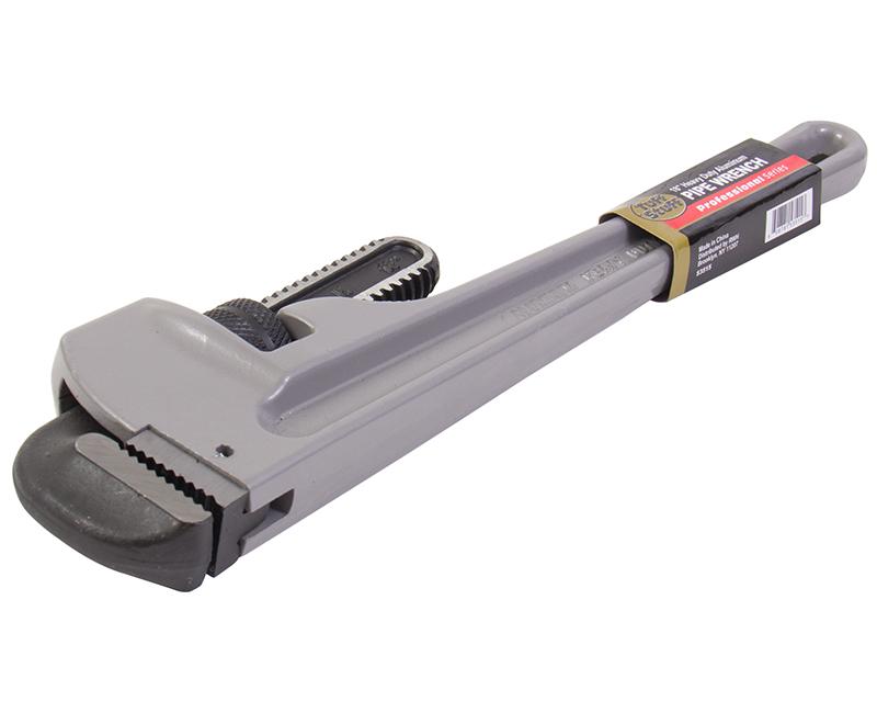 "18"" Heavy Duty Aluminum Pipe Wrench"