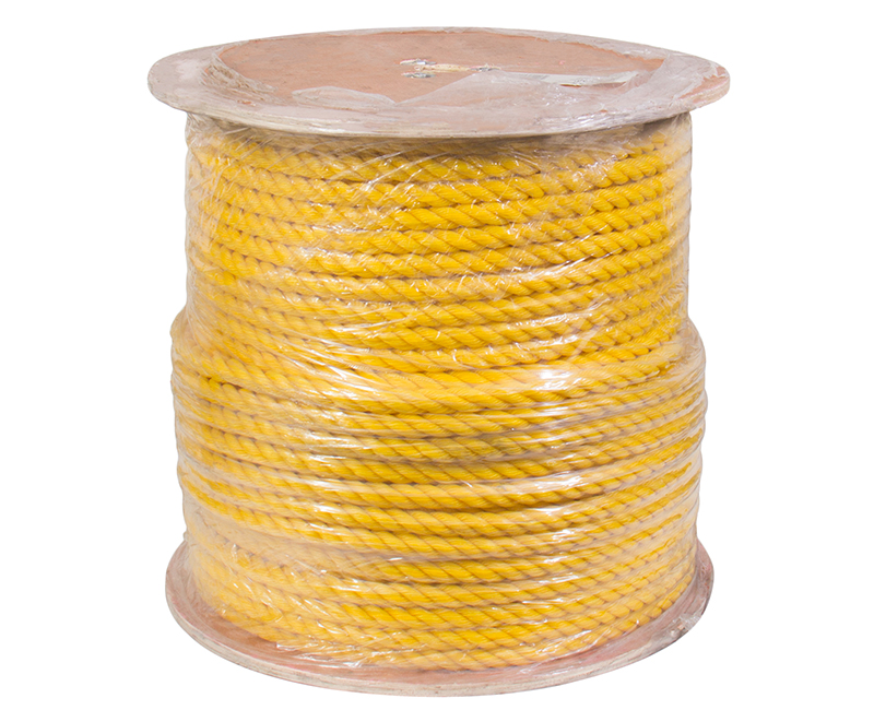 "5/8"" X 600' Yellow Poly Rope on Reel"