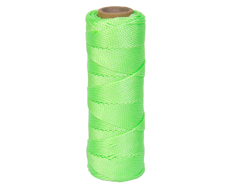 #18 X 275' Twisted Nylon Mason Line - Neon Green