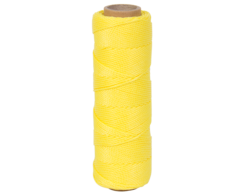 #18 X 275' Twisted Nylon Mason Line - Yellow