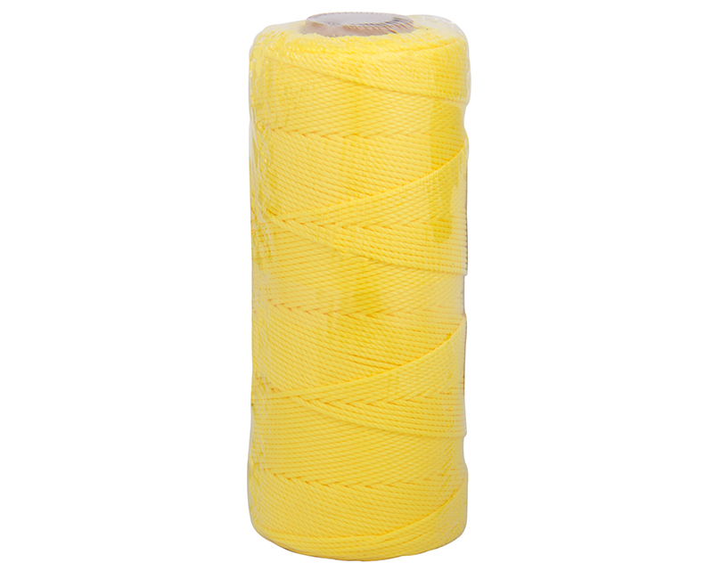 #18 X 550' Twisted Nylon Mason Line - Yellow