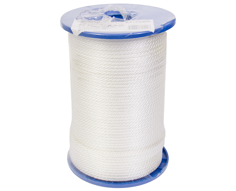 #6 X 475' Solid Braided Nylon Rope On Reel
