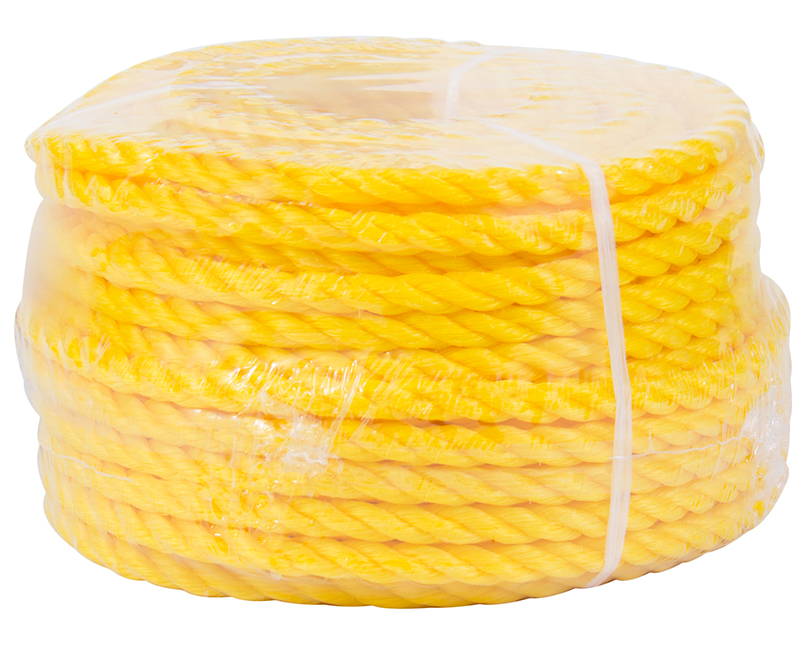"3/8"" X 100' Yellow Poly Rope"