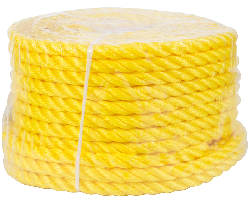 "1/2"" X 100' Yellow Poly Rope"