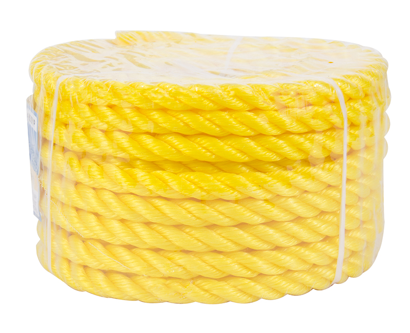 "1/2"" X 50' Yellow Poly Rope"