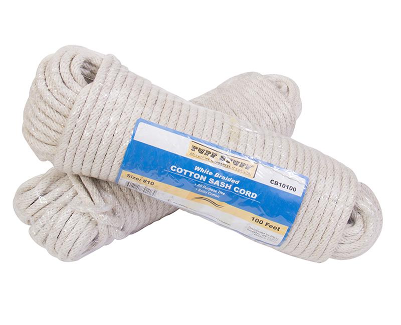 #10 X 100' Cotton Braided Sash Cord