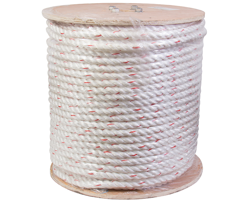 "3/4"" X 600' Safety Combo Rope With Blue Tracer"