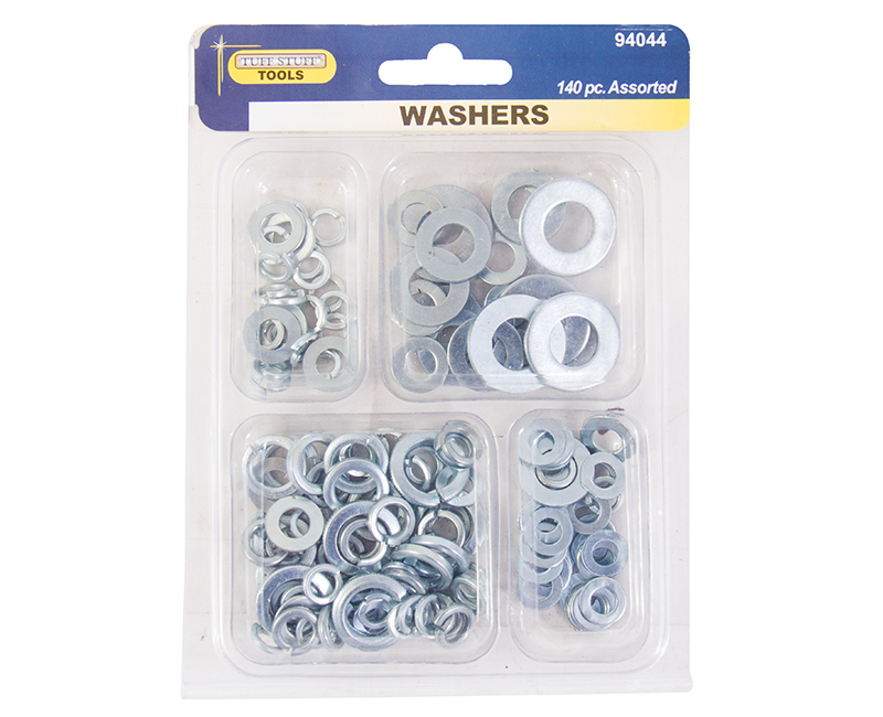 140 PC. Assorted Washers