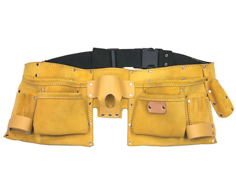 11 Pocket Leather Tool Apron