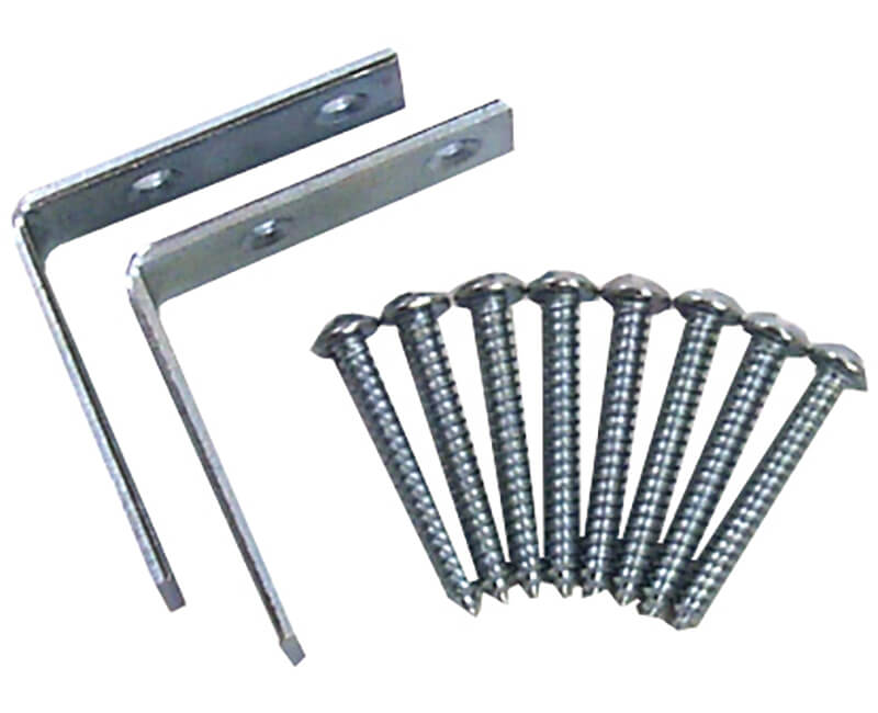 One-Way Screw and Bracket Set for Child Window Guards
