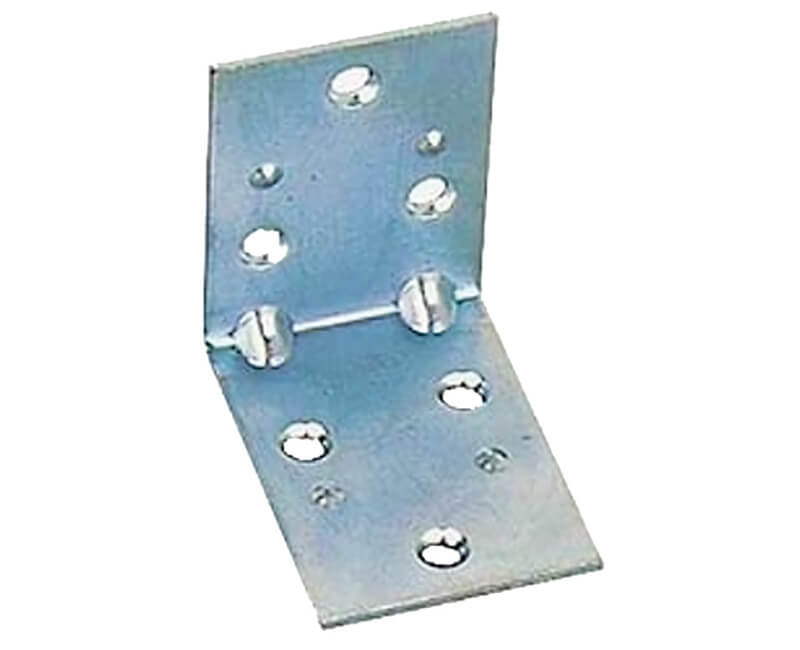"1-1/2"" Extra Wide Corner Brace With Screws - Carded"