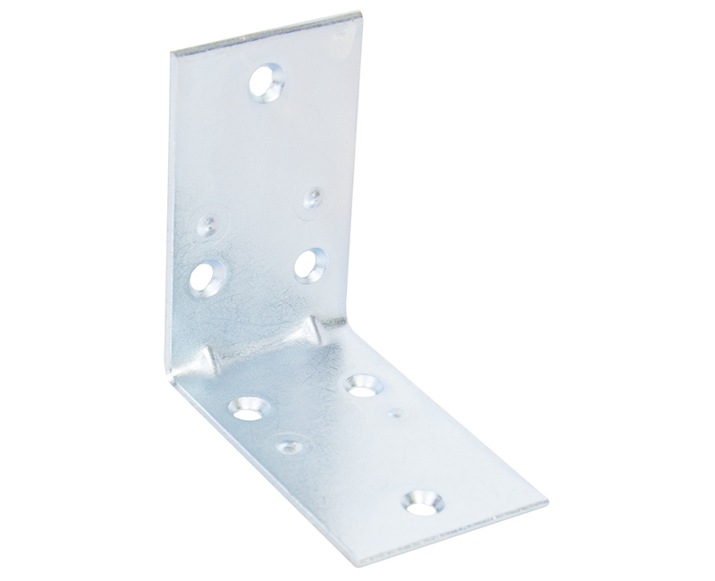 "2-1/2"" Extra Wide Corner Brace With Screws - Bulk"