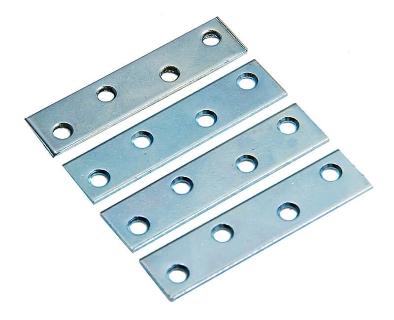 """3"""" Mending Plate With Screws - 4 Per Card"""