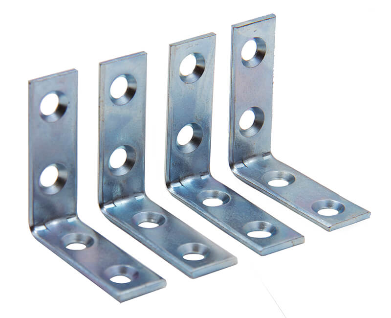 "1-1/2"" Corner Brace With Screws - Carded"