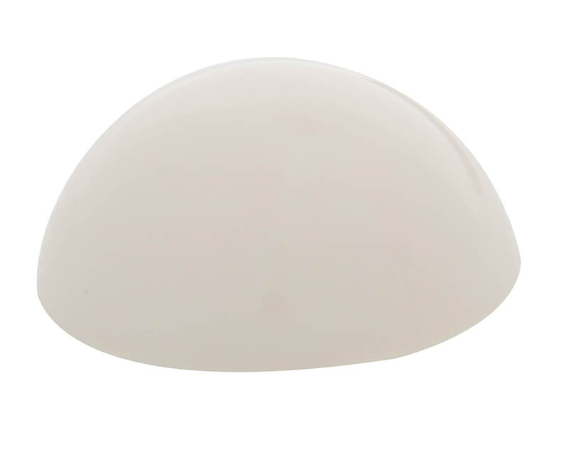 "2-1/2"" Stick-On Dome Door Bumper - Ivory"