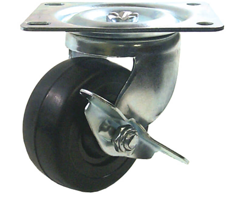 "2"" Swivel Plate Caster With Brake"