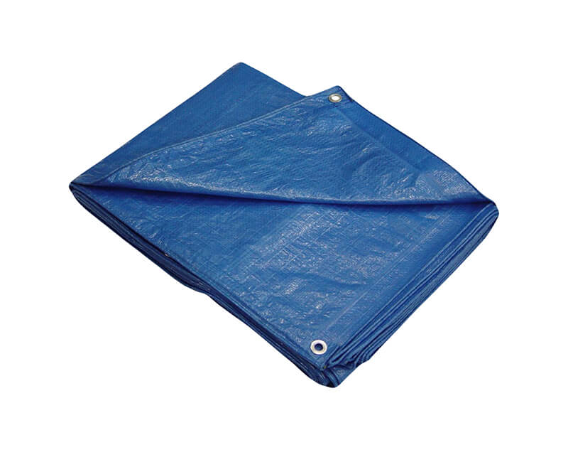 8' X 10' All Purpose Blue Poly Tarp